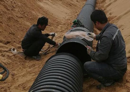 榆林市芹河大道污水管网项目